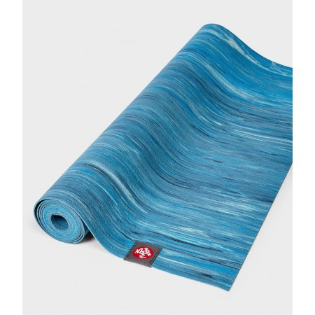 "Коврик для йоги ""Manduka eKO superlite travel - dresden blue marbled"""