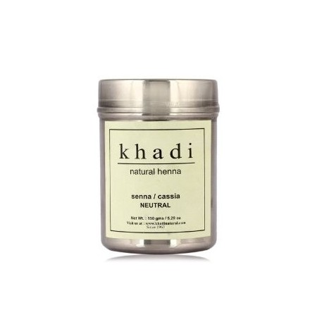 Khadi. Хна нейтральная Khadi Natural Henna Senna Cassia Obovata Leaves 150 г