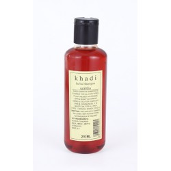 Khadi. Шампунь без парабенов Ритха Herbal Satritha Shampoo 210 мл.