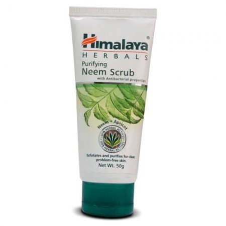 Himalaya. Скраб с нимом Purifying Neem Scrub 50 гр. (туба)
