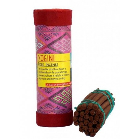 Благовоние Yogini Rose Incense 13 см.