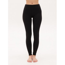 Urban Yoga. Леггинсы Cotton Black