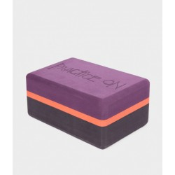 Manduka recycled foam yoga block - Elephant