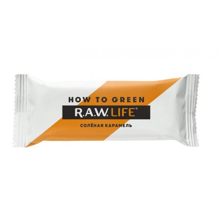 "R.A.W. LIFE ""Limited Edition 2019"" Солёная Карамель, 47 гр."